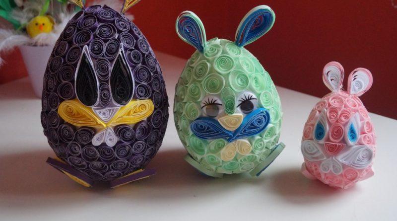 Nasze wielkanocne stroiki i jajka