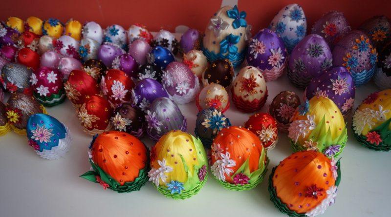 Wielkanocne jaja wykonane przez Uczestników