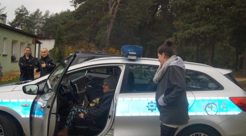 Wizyta Policji
