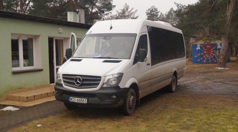 Nowy autobus dla Uczestników