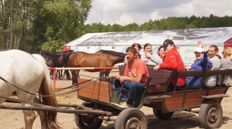 Wycieczka do Dzbenina na konie