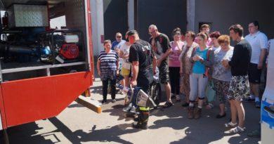 Wizyta w remizie strażackiej