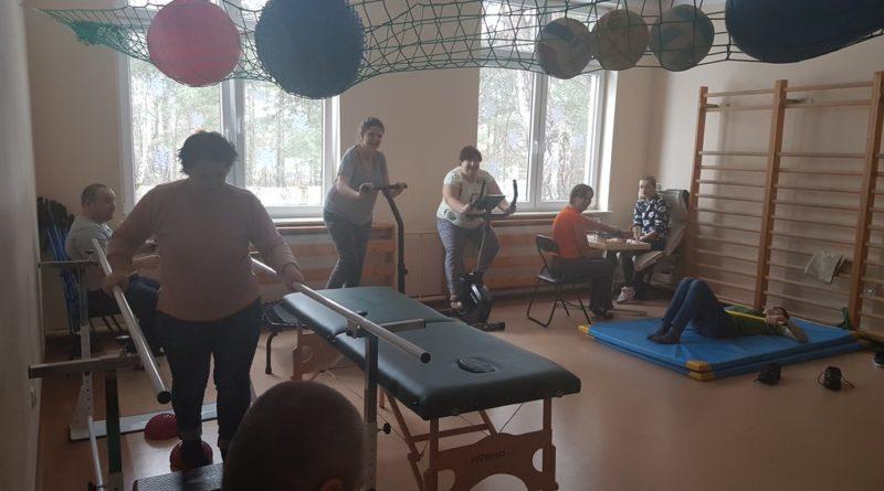 Sala ćwiczeniowa - zajęcia z fizjoterapeutą
