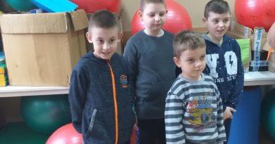 Goście ze Szkoły Podstawowej w Szczawinie