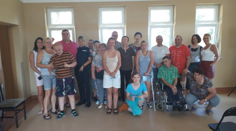 Pani Aneta z KMP w Ostrołęce z wizytą u nas