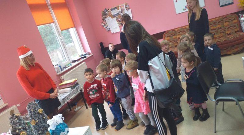 Przedszkolaki z Akademii Maluchów z wizytą u nas