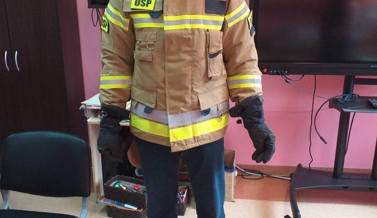 Ponowne odwiedziny strażaka w naszym Domu