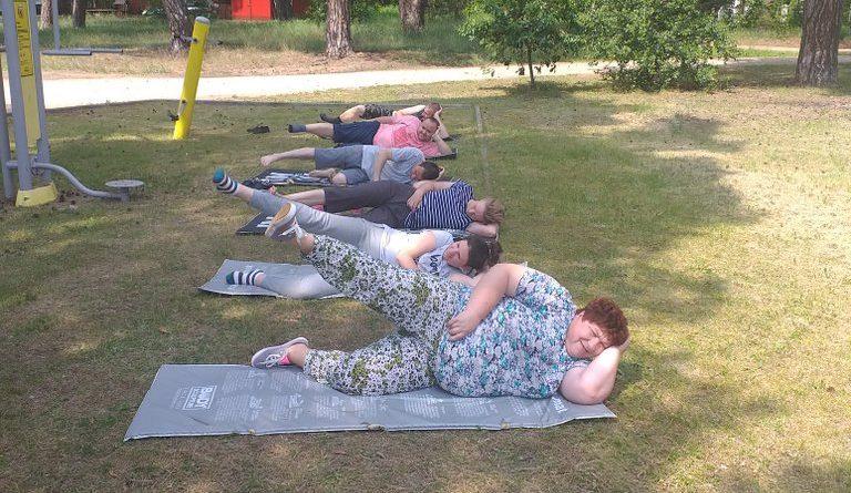 Ćwiczenia na powietrzu