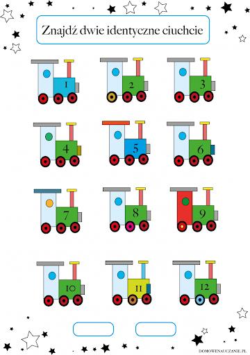 Ilustracja z ciuchciami