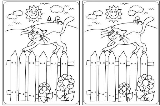 Ilustracja z kotkiem